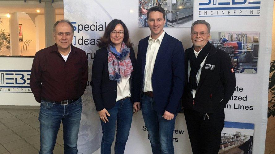 Rainer Spitz, Silke und Stefan Plaggenborg, Thomas Reiner