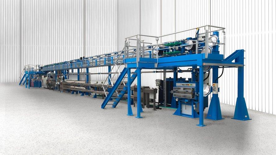 Extrusions-Gesamtanlagen für die Kabelproduktion