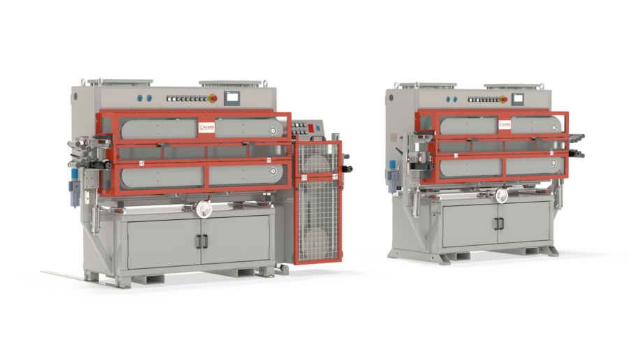 Machines for professional use, for for pulling or pushing wires, cores and cables.