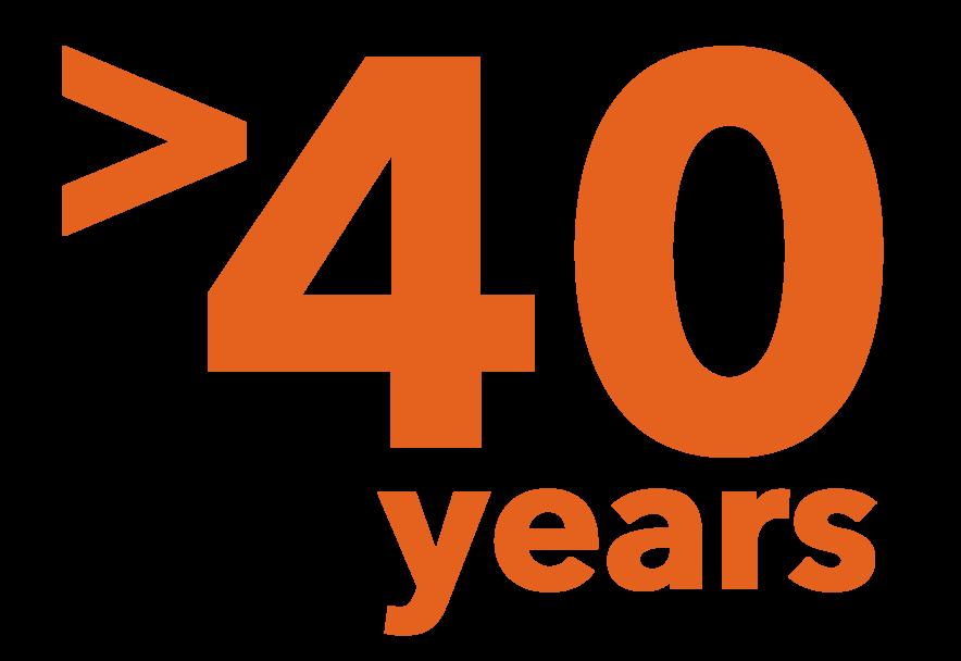 >40 Jahre