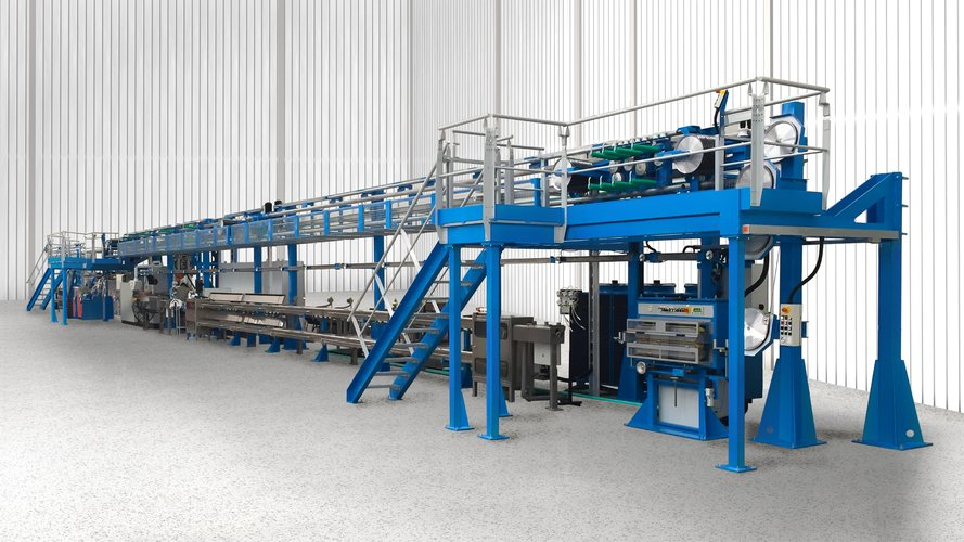 Complete extrusion lines for cable production