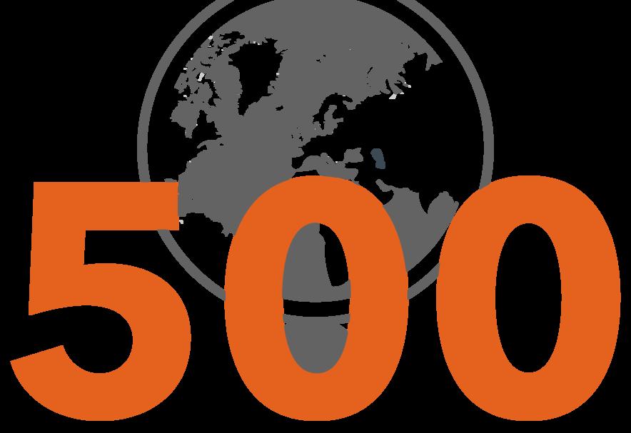 500 Kunden weltweit