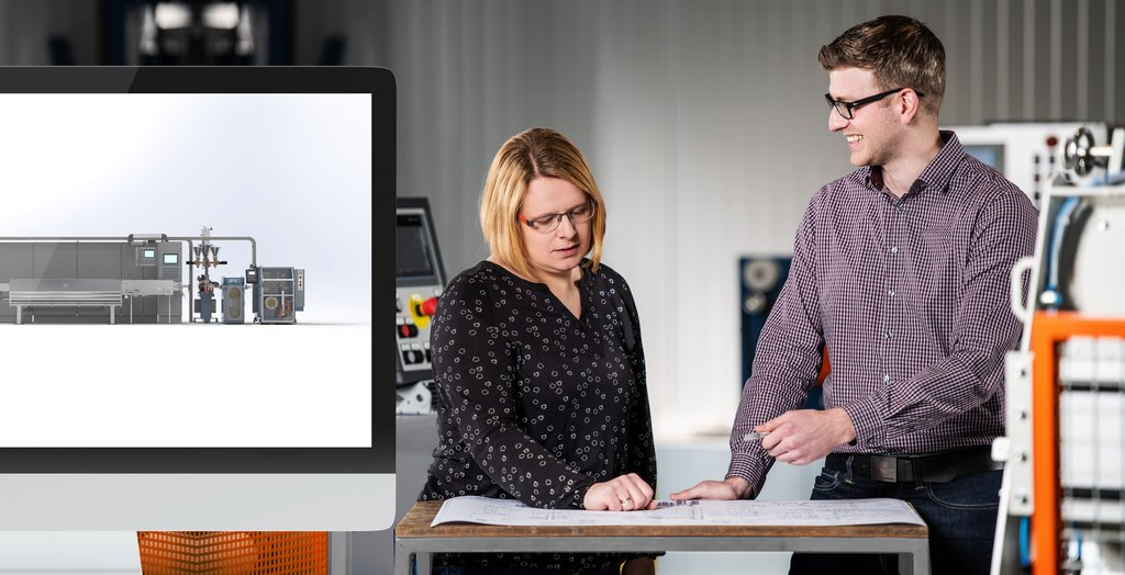 Kurre design head team Sabrina Tamling and Thomas Deeken