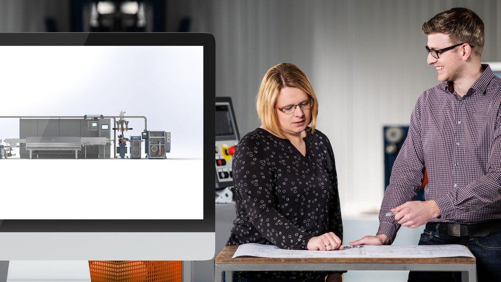 Kurre Konstruktionsleiter-Team Sabrina Tamling und Thomas Deeken