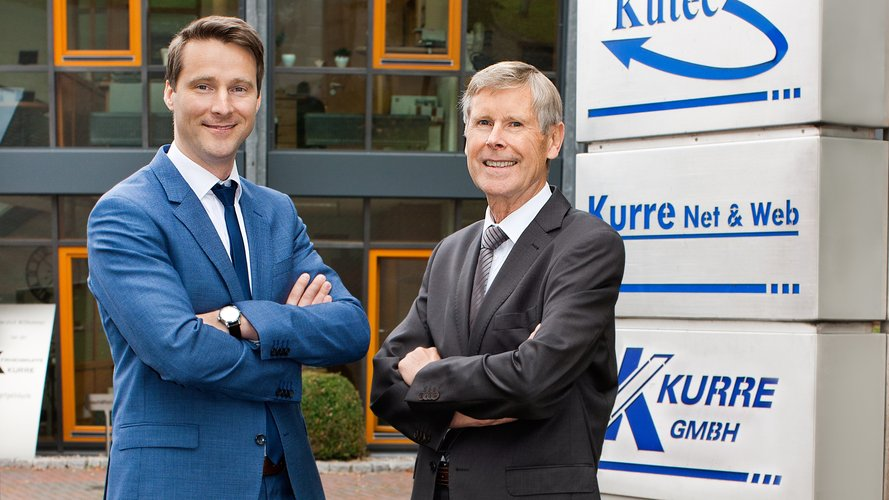 Portrait Stefan Plaggenborg and Reinhold Kurre